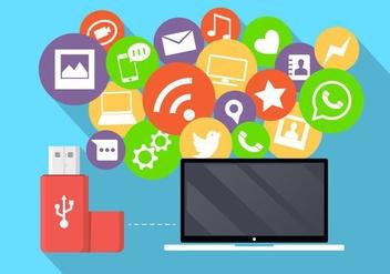 Social Media Icons - Free vector #361147