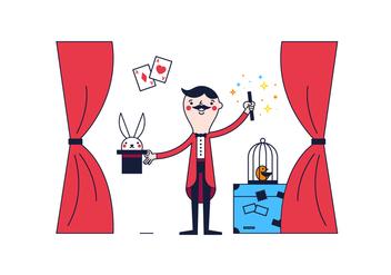 Free Magician Vector - Kostenloses vector #361567