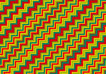 Colorful Zig Zag Pattern Background - vector #362667 gratis