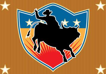 Free Bull Rider Vector - Free vector #362917