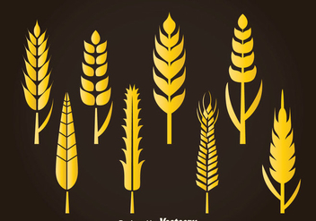 Wheat Stalk Vector - Free vector #363287