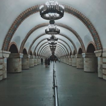 Interior of subway station - Free image #363697