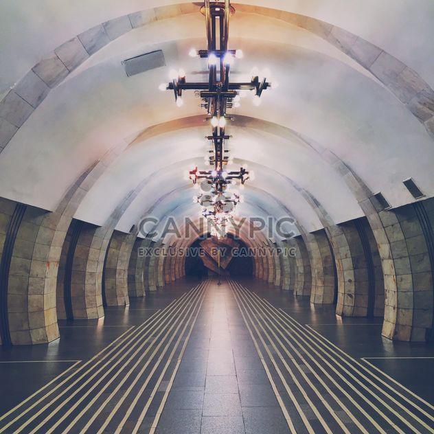 Intérieur de la station de métro - image gratuit #363707