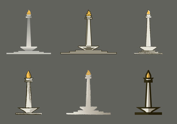 Free Monas Vector Illustration - Free vector #363747