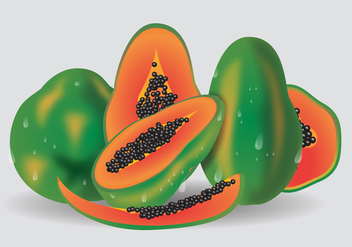 Fresh Fruit Vector - бесплатный vector #363927