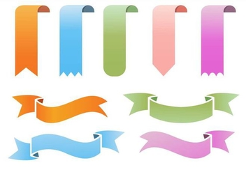 Ribbon Vector - Free vector #364017
