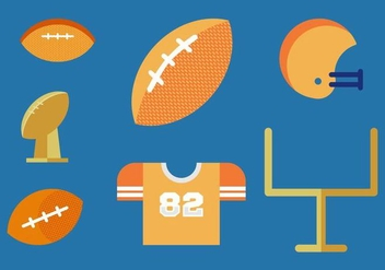 Free Footballs Vector Pack - Free vector #364177
