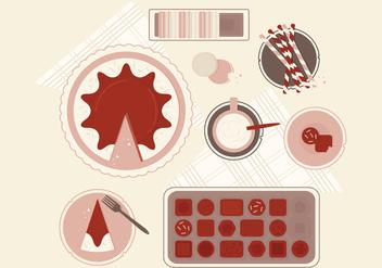 Vector Sweets Illustration - Kostenloses vector #364297