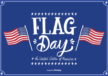 June Flag Day Vector Illustration - vector gratuit #364587