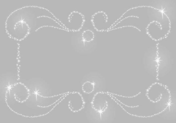 Silver Glitter Background - vector gratuit #365147