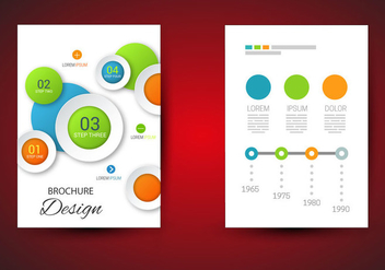 Free Brochure Template Vector - бесплатный vector #365667