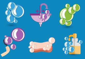 Soap Bubbles Vector - Free vector #365717