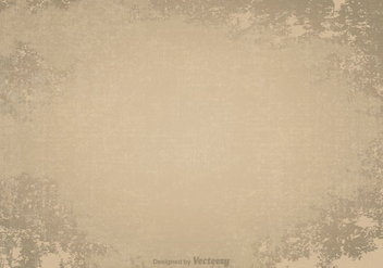 Old Grunge Vector Background - Kostenloses vector #365817