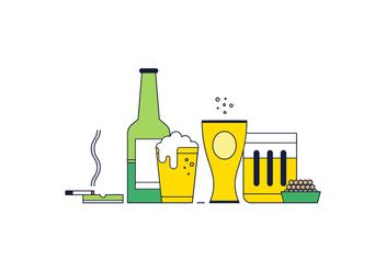 Free Beer Vector - vector #365897 gratis