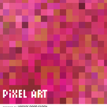 Pink pixel art backdrop - Kostenloses vector #365977