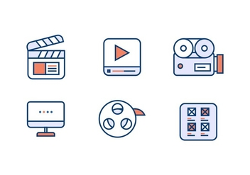 VIDEO EDITING VECTOR - Free vector #366077