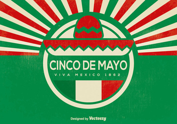 Cinco de Mayo Background - бесплатный vector #366507