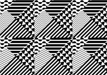 Seamless Pattern Bauhaus - vector gratuit #366617