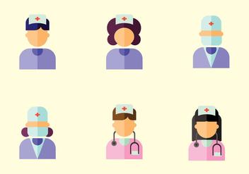 Nurse Vector - Free vector #366847