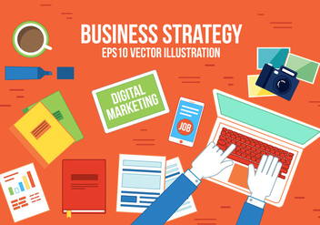 Free Business Vector Strategy - Free vector #367077