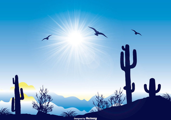 Beautiful Landscape Scene - Free vector #367797
