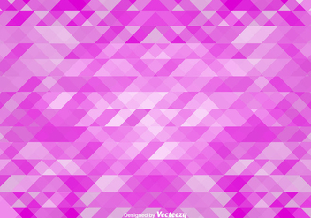 Fractal Pink Vector Background - Kostenloses vector #367827