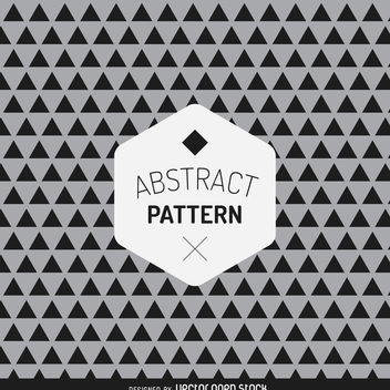 Hipster triangle pattern - vector #367917 gratis