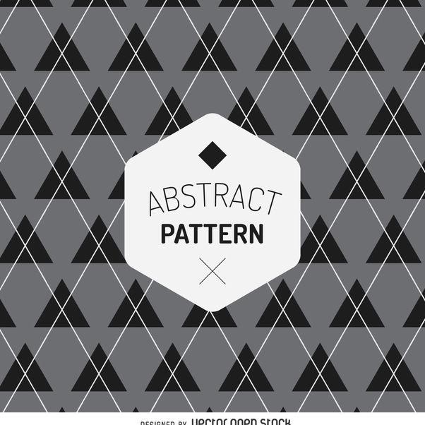 Geometric tartan pattern - Free vector #368037