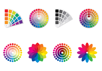 COLOR SWATCHES VECTOR - Free vector #368227