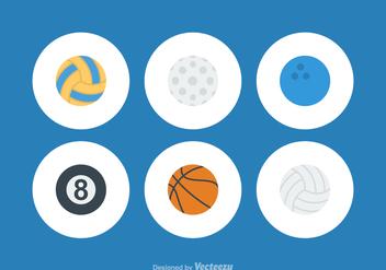 Free Vector Sport Balls - бесплатный vector #368377