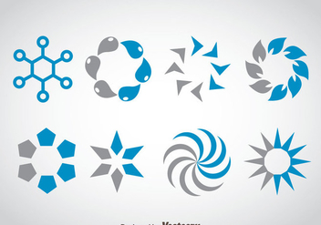 Preloader Collection Set Vector - vector #368437 gratis