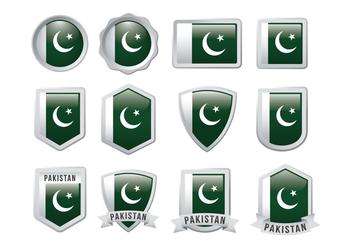 Free Pakistan Flag Vector - Free vector #369827