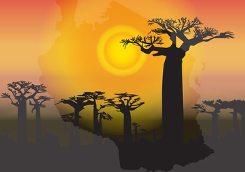 Postcard Tanzania - vector gratuit #370217