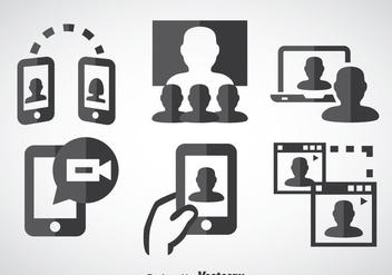 Webinar Icons - Kostenloses vector #370347