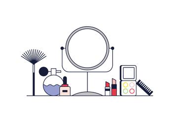 Free Makeup Vector - vector #370357 gratis