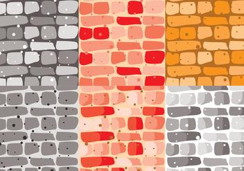 Stonewall Brick Vector - Free vector #371137