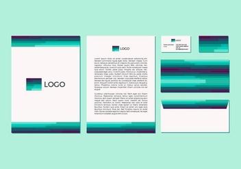 Free Emerald Vector Letterhead Design - Kostenloses vector #371377