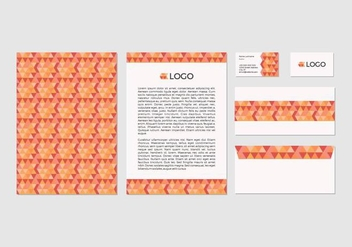 Free Abstract Vector Letterhead Design - Kostenloses vector #371427