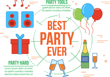 Free Best Party Vector - Kostenloses vector #371797