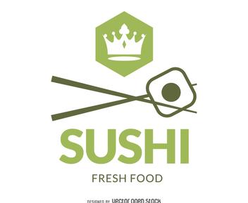Sushi branding logo - Free vector #371967