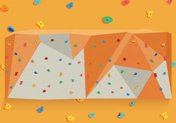 Climbing Wall Vector - Free vector #373737
