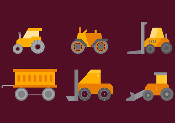 Free Tractor Tire Vector 4 - Free vector #373887