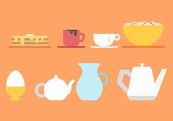 Free Pancake Breakfast Vectors - vector gratuit(e) #374667