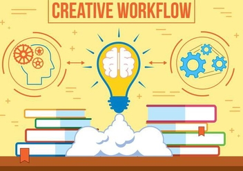 Free Vector Creative Workflow - vector gratuit #375177