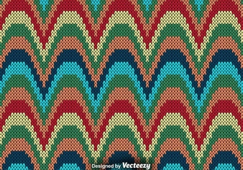 Knit Texture, Vector pattern - бесплатный vector #375237