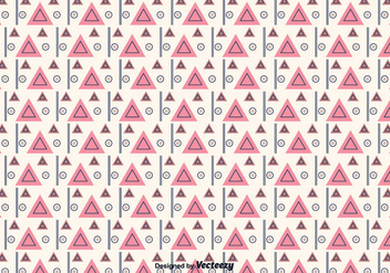 Geometric Triangular Pattern - Free vector #375487