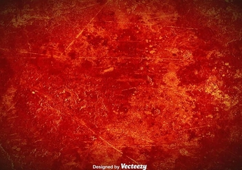 Vector Red Grunge Background - Kostenloses vector #375607
