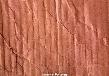 Vector Crumpled Cardboard Texture - Kostenloses vector #375637