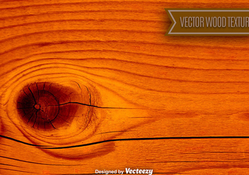 Vector Natural High Detailed Wood Background - Free vector #375847