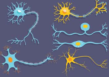 Neuron Vector - Free vector #375867